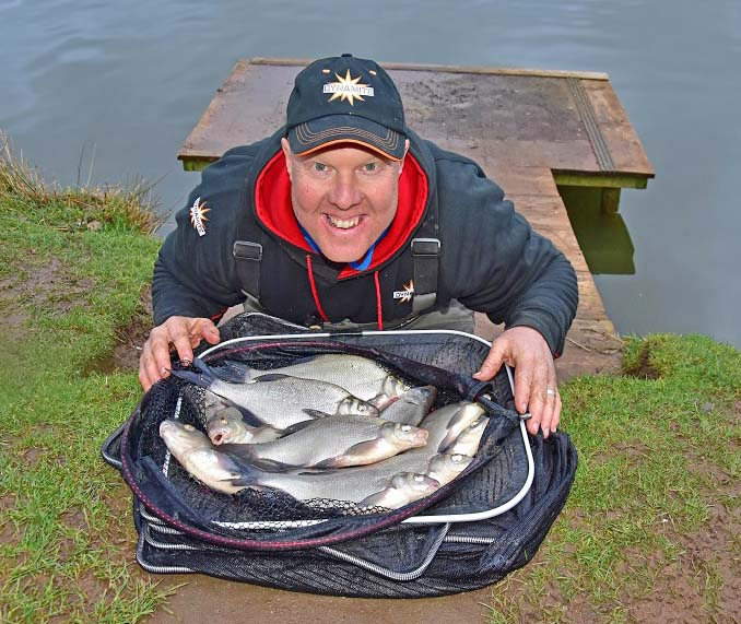 Andy may fishing for commercial silvers