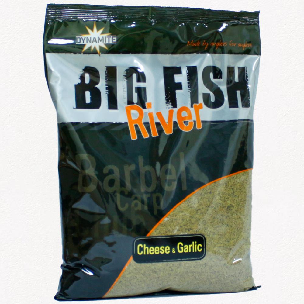 Big Fish River Groundbait – Cheese & Garlic