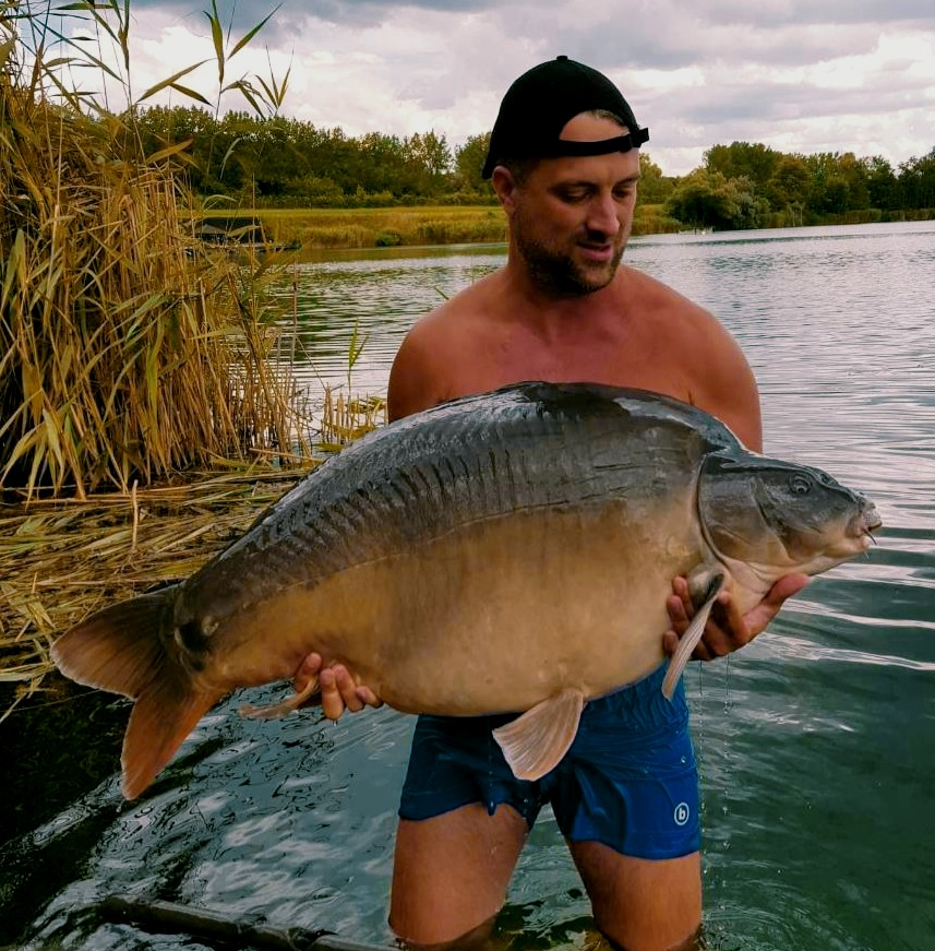 big carp caught on complex-t