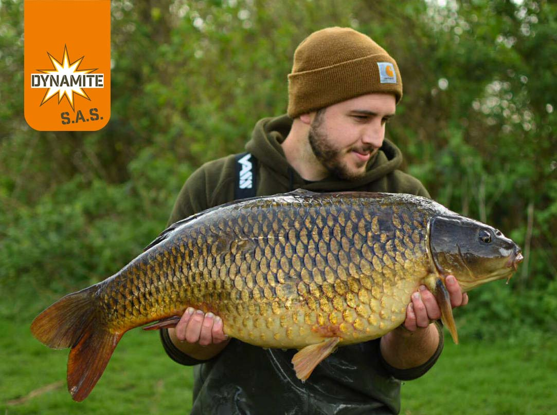 James Buckler 30lb lineaer fisheries carp