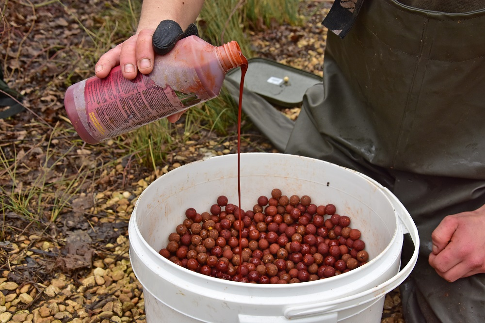 glugging hookbaits for carp