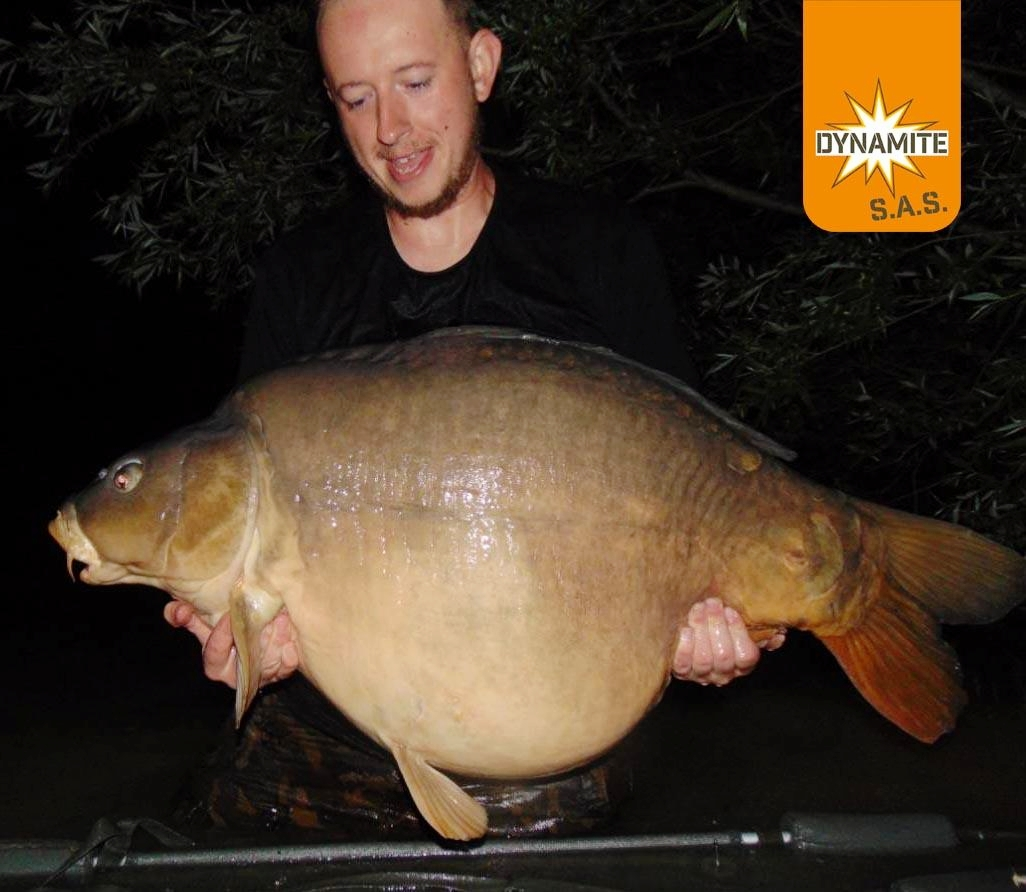 richard hill 60lb french carp fishing