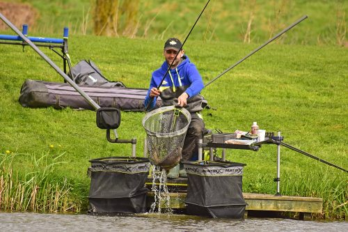 hard pellet fishing on the pole