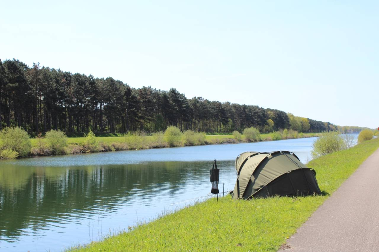 carp fishing on europe canals