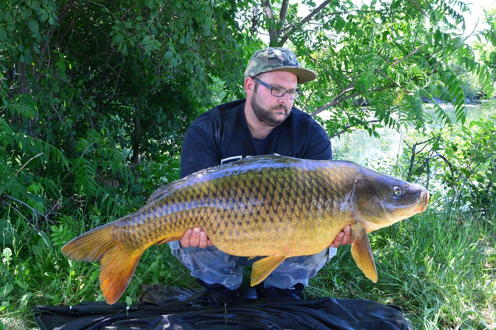 canada carp fishing on dynamite