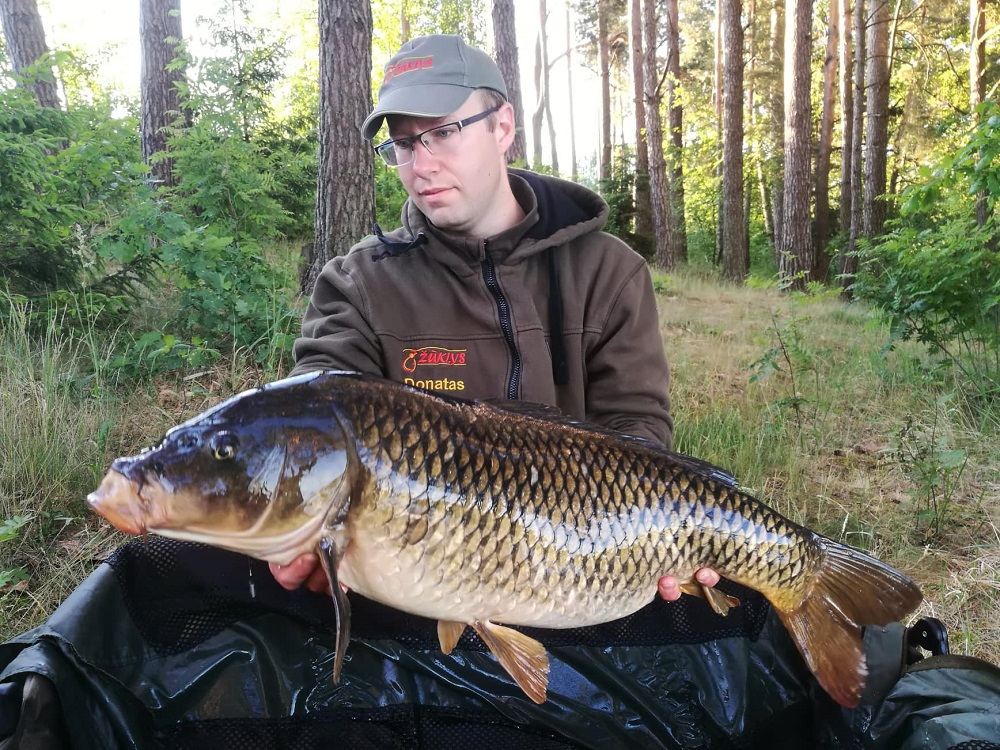 lithuania carp fishing