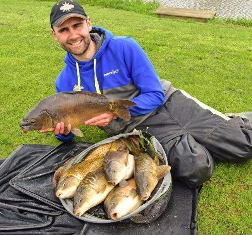 catch shot hayfield lakes hard pellet fishing