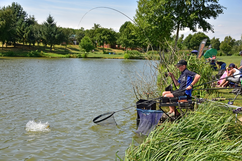 dynamite match academy makins fishery action