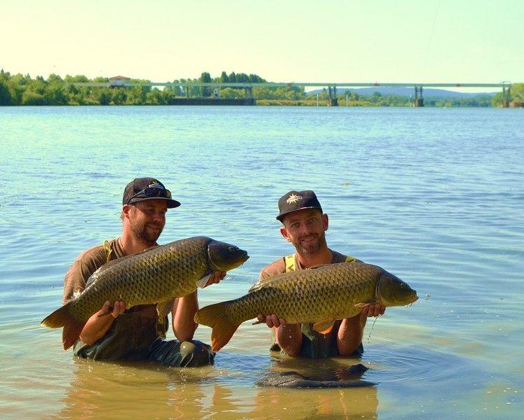 open de chalons carp fishing river saone france