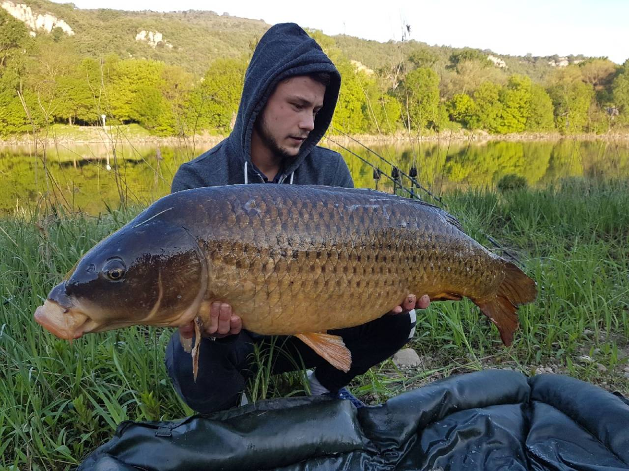 river carp fishing germany