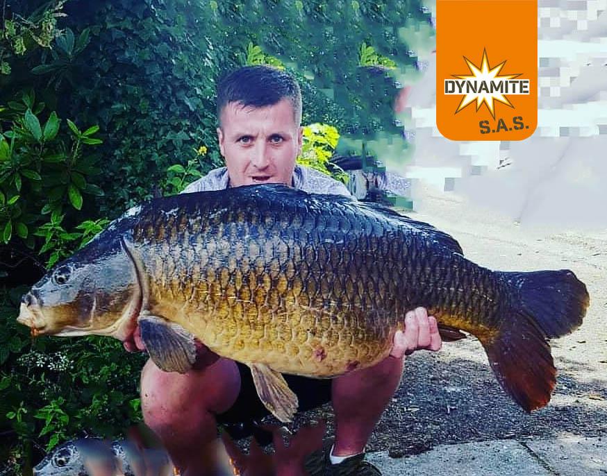 Max Bidlake sas carp competition 1st place