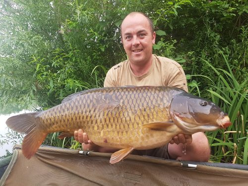 Damien Baker, 32lb 4oz, CompleX-T, Cherry Lakes