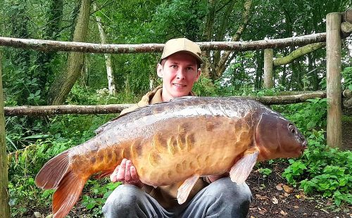 Josh Dorka, 29lb 9oz, Monster Tiger Nut, Wetlands Fishery Norfolk