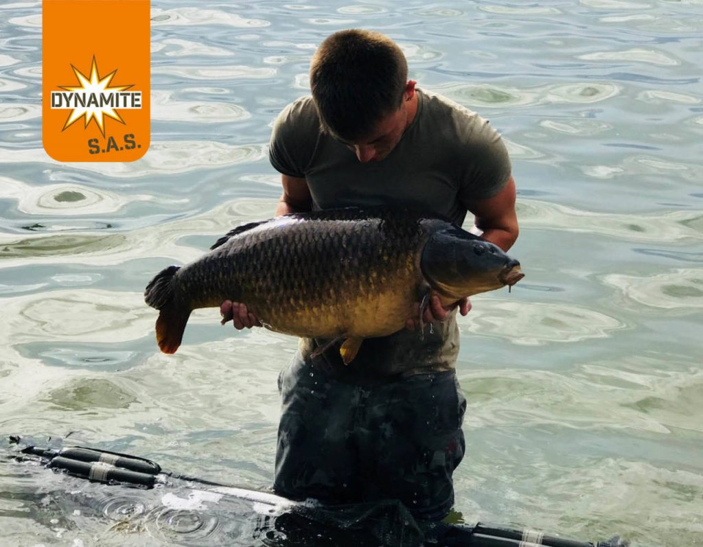 Tom Meager 33lb 8oz The Source win pic