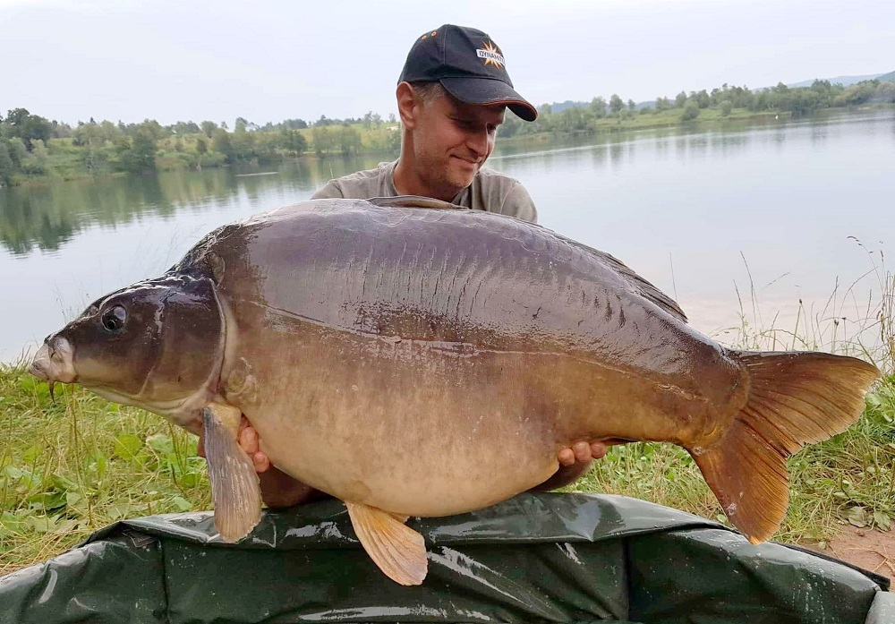 srecko 30kg carp on robin red boilies