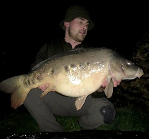 Nathan Williams, 28lb 12oz, Unknown canal, CompleX-T