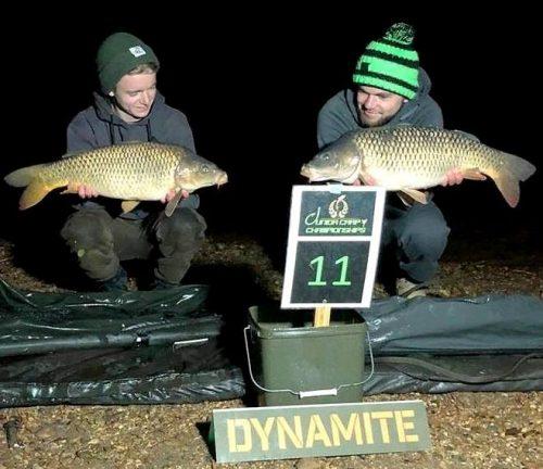 junior pairs carp angling championships - Dynamite Baits