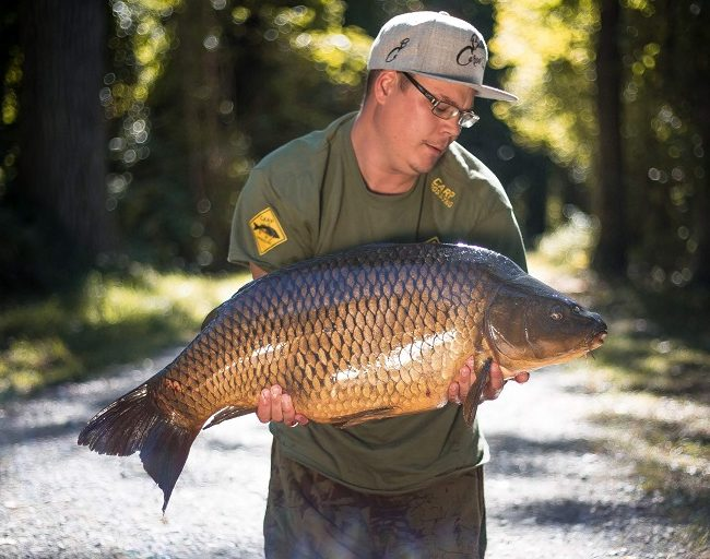swiss carp fishing common mike wipfy