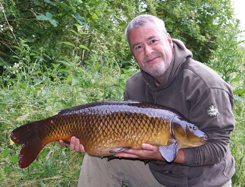 tony gibson with a nene valley common