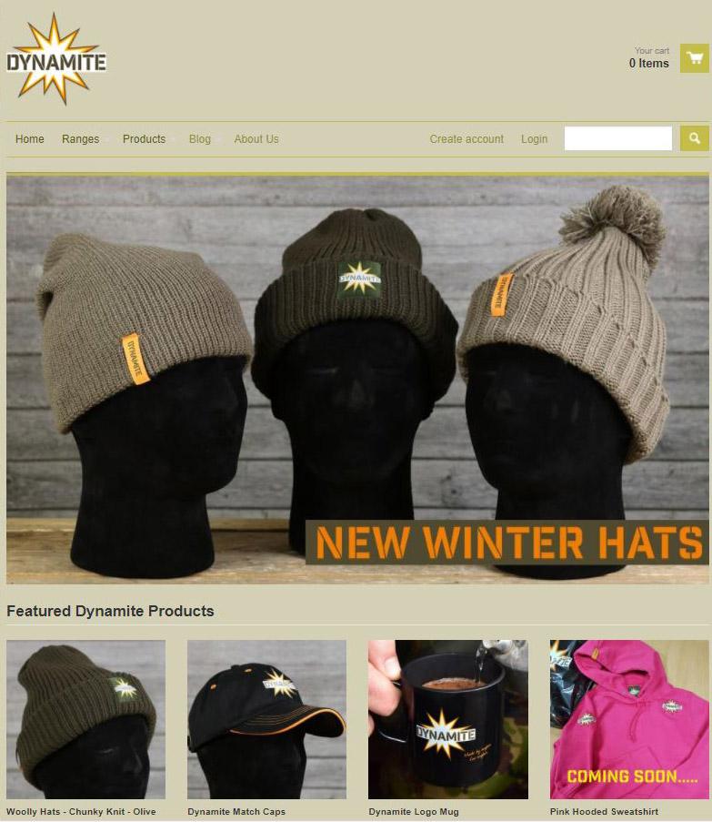 dynamite baits merchadise webshop