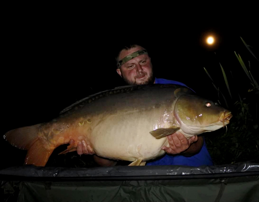 Linas Kukulskis didelexzuvys lake the source caught carp