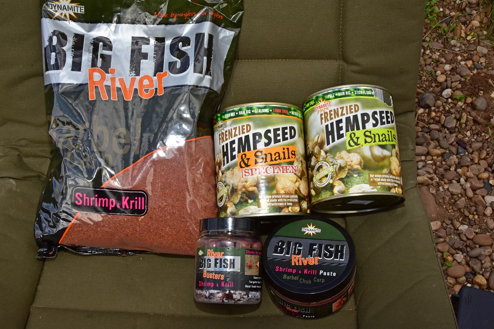 Everything you need for a day's barbel fishing