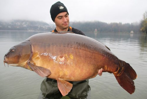 kristof cuderman slovenian 70lb carp from seven countries