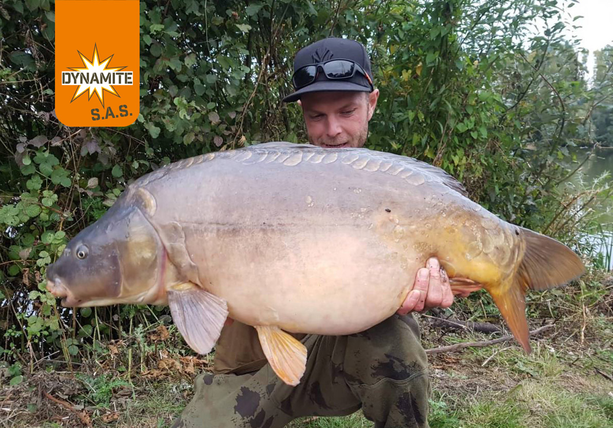 sean rossiter 40lb carp the source loggies pit