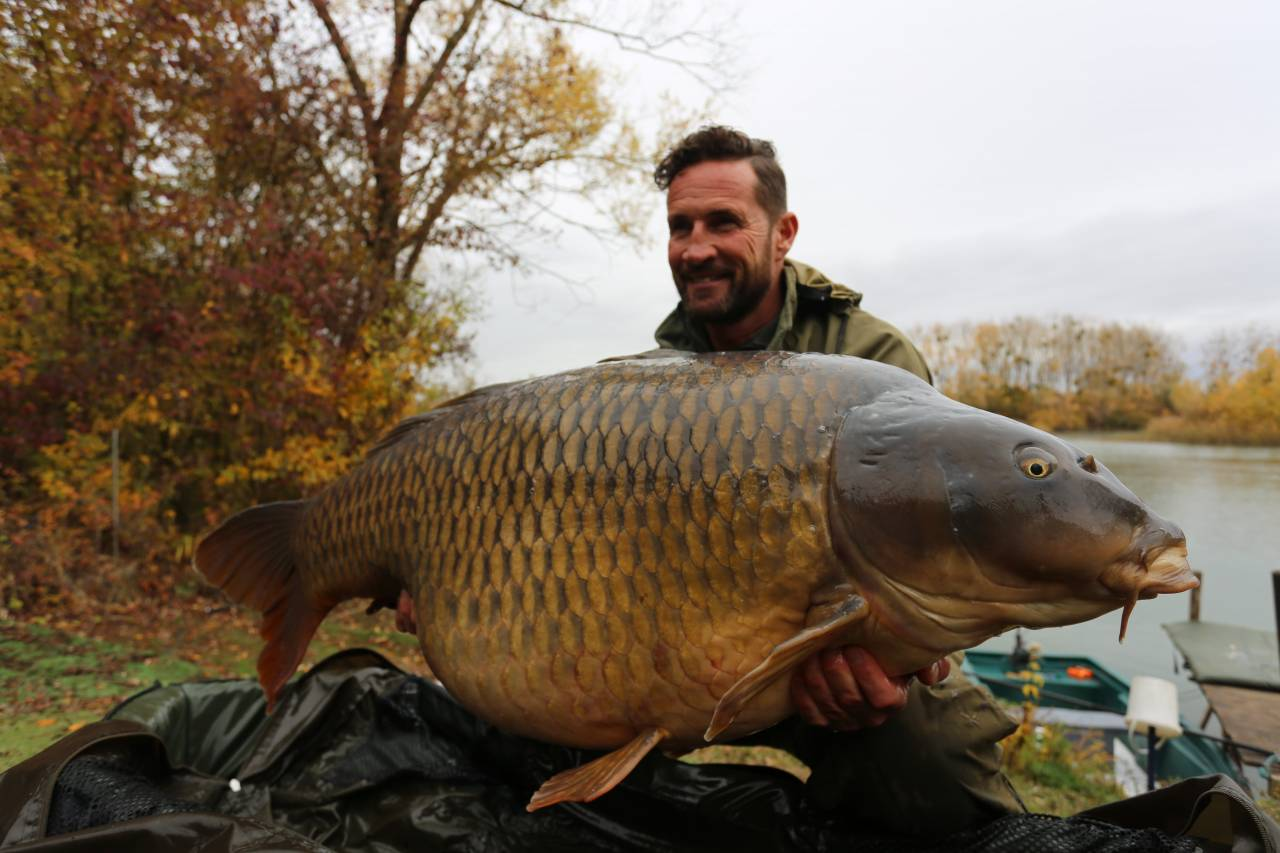 80lb mick bowman the island lake france