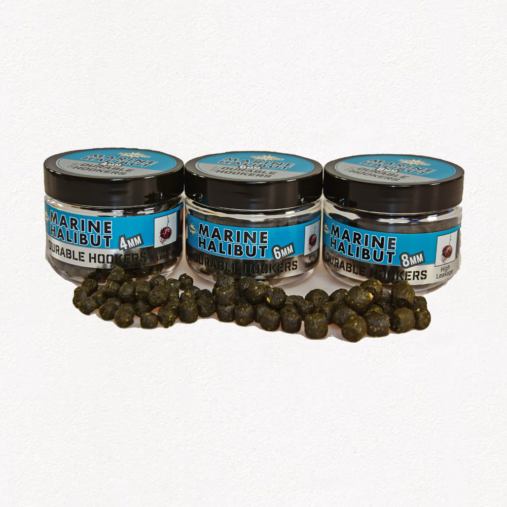 Van Den Eynde Halibut 4mm soft jelly hooker pellets baits