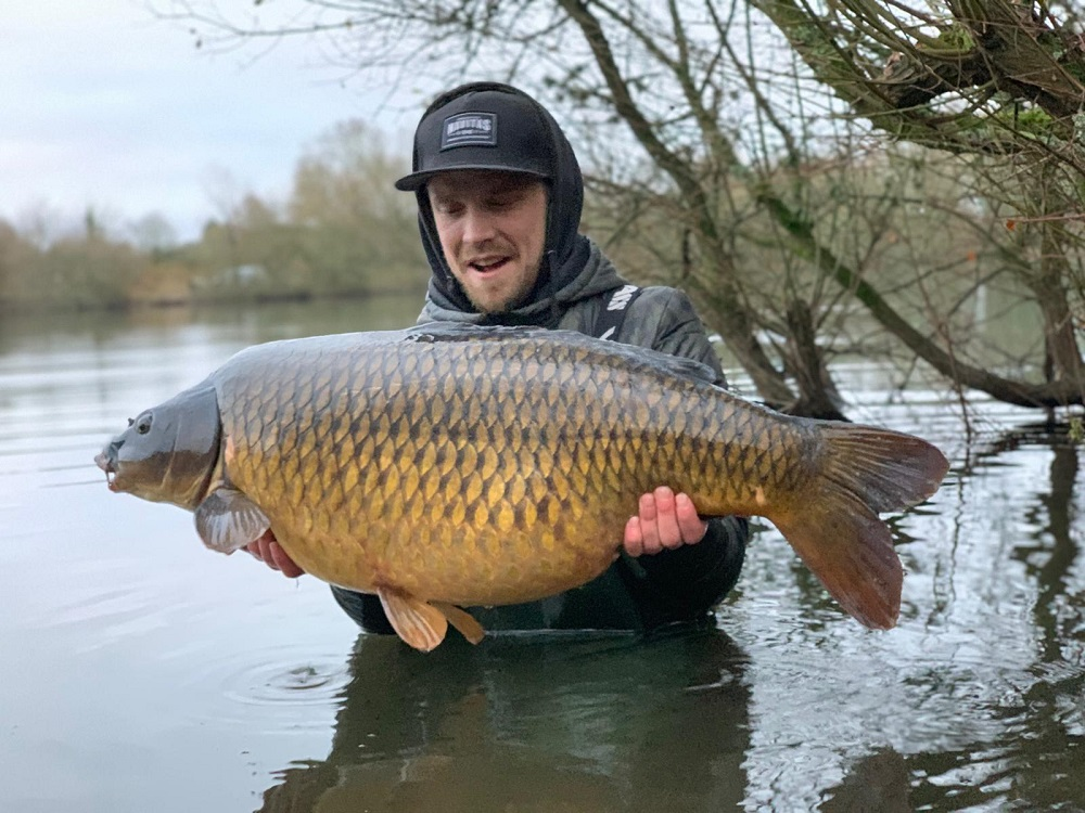 richie leat mohawk caught carp monster tiger nut