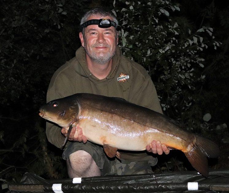 tony gibson horseshoe lake leather carp