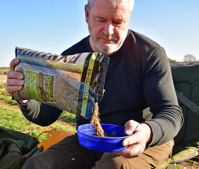 grubby groundbait is great for big river perch