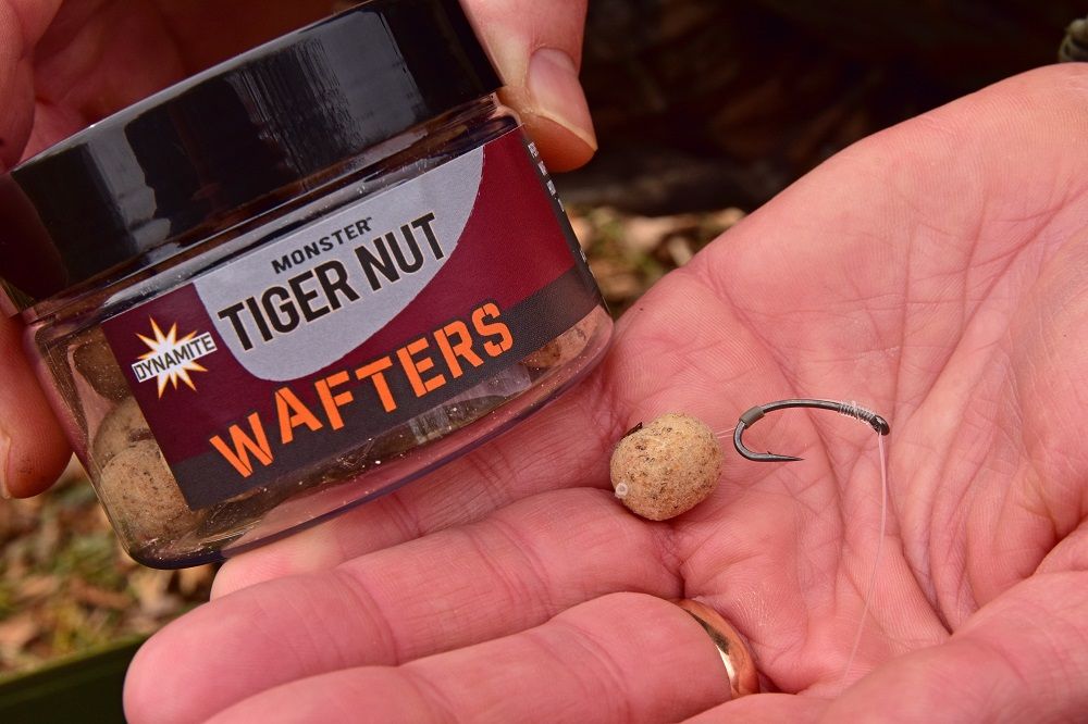 A Tiger Nut Wafter is great in coolwater conditions