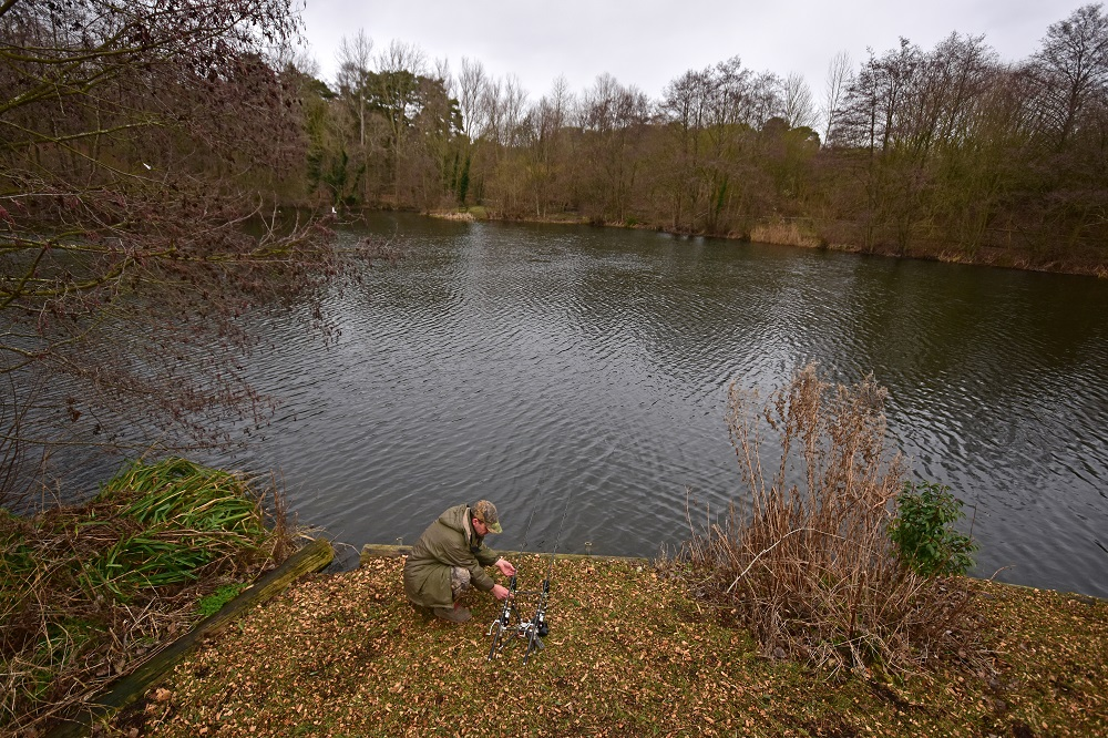 Location is vital on small carp waters too