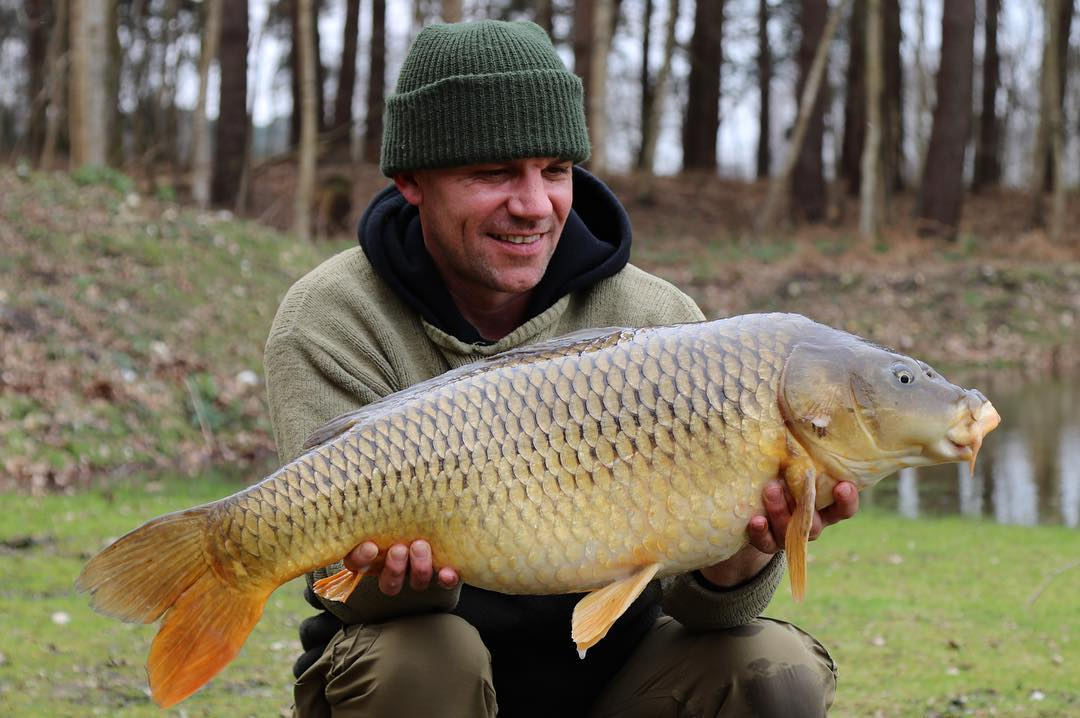 pete castle carp fishing on small waters