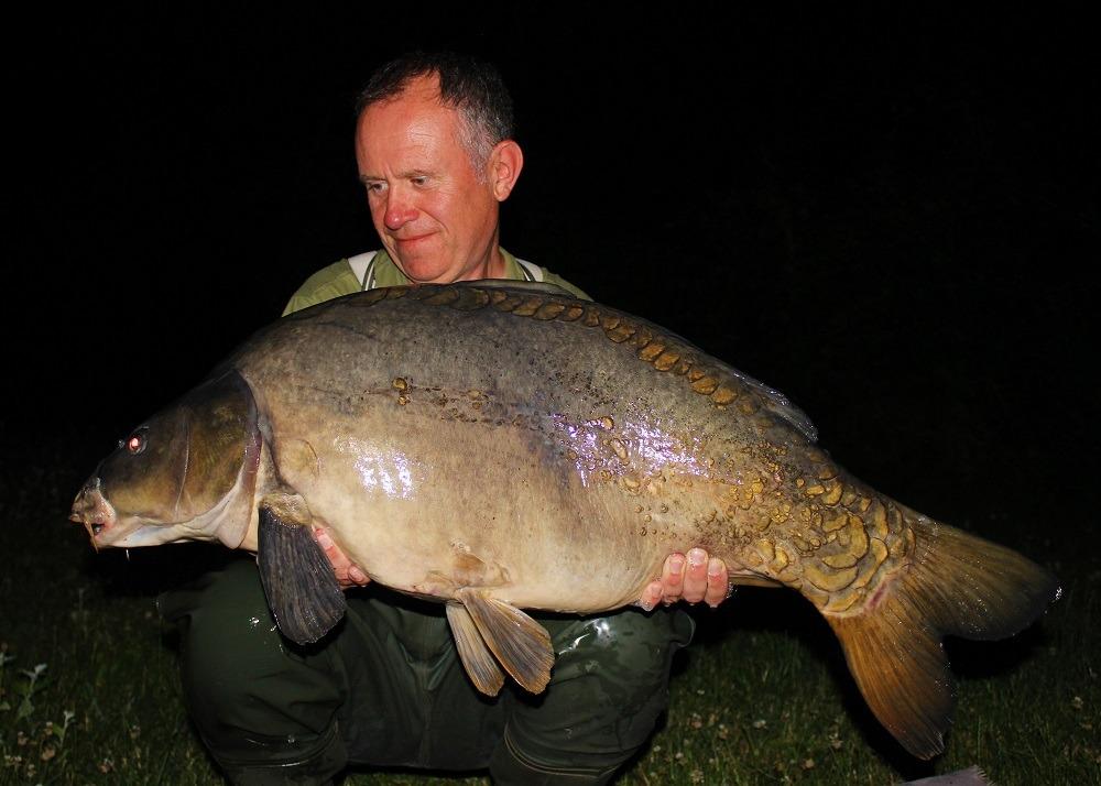 41lb bluewater carp dan cleary