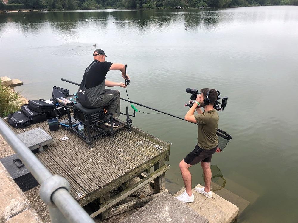 andy may pellet waggler fishing drayton