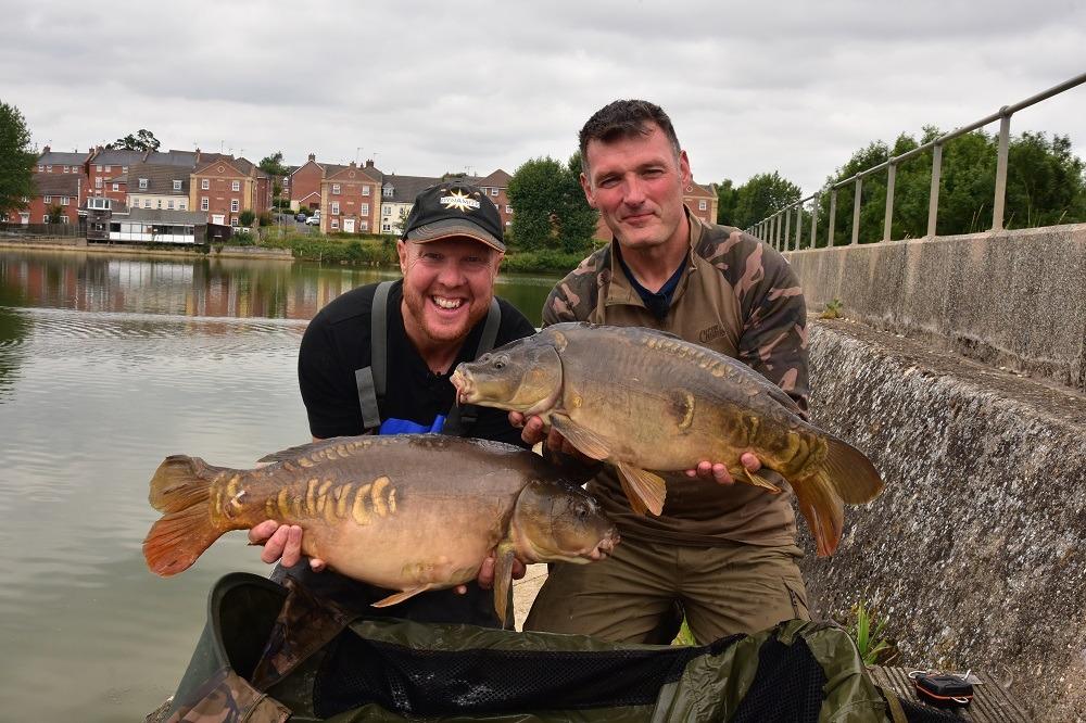 andy may v rob hughes drayton on the bank fish off