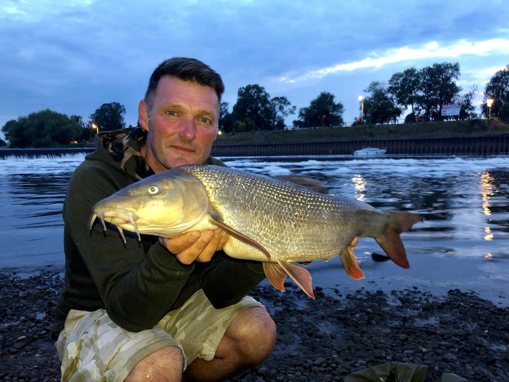 rob hughes barbel on meat furter