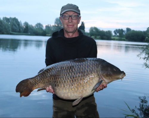 Paul Pheasant, 36lb 5oz. Bluebell Lakes, Hit N Run pop-up