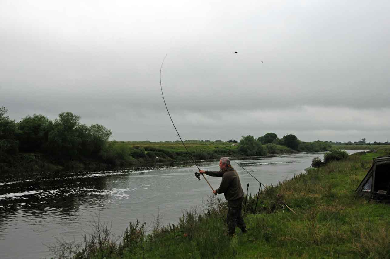 casting out on the river