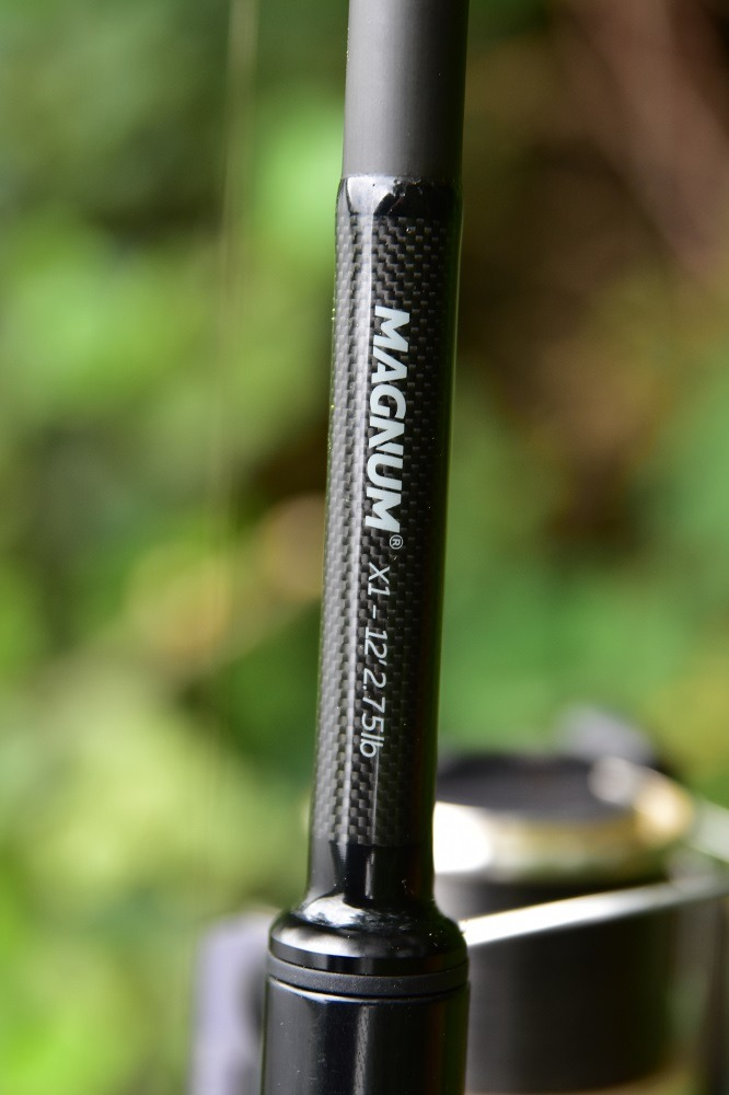 magnum x1 carp spirit rod for surface carp fishing