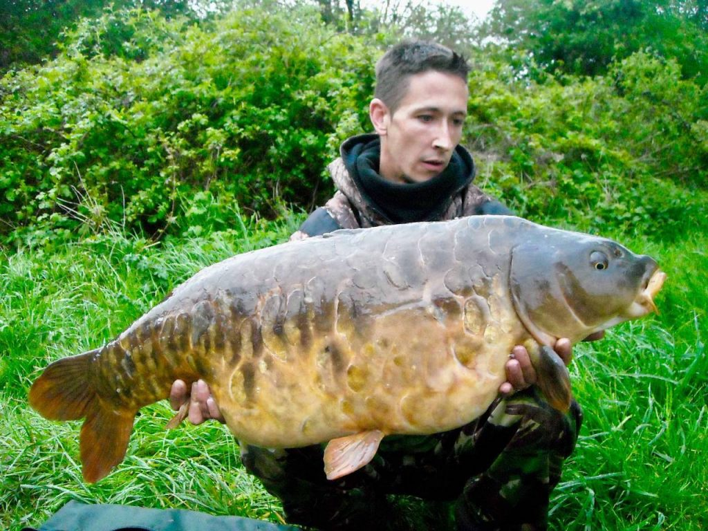 Joel Parry, 32lb 2oz, Ringwood Club Water, Monster Tiger Nut