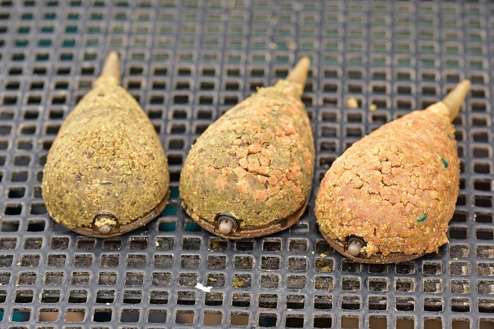 All have their place - ground, groundbaitpellet combo and pure pellet 1