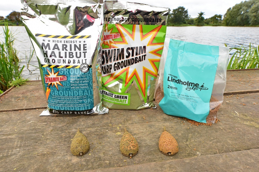 All have their place - ground, groundbaitpellet combo and pure pellet 2
