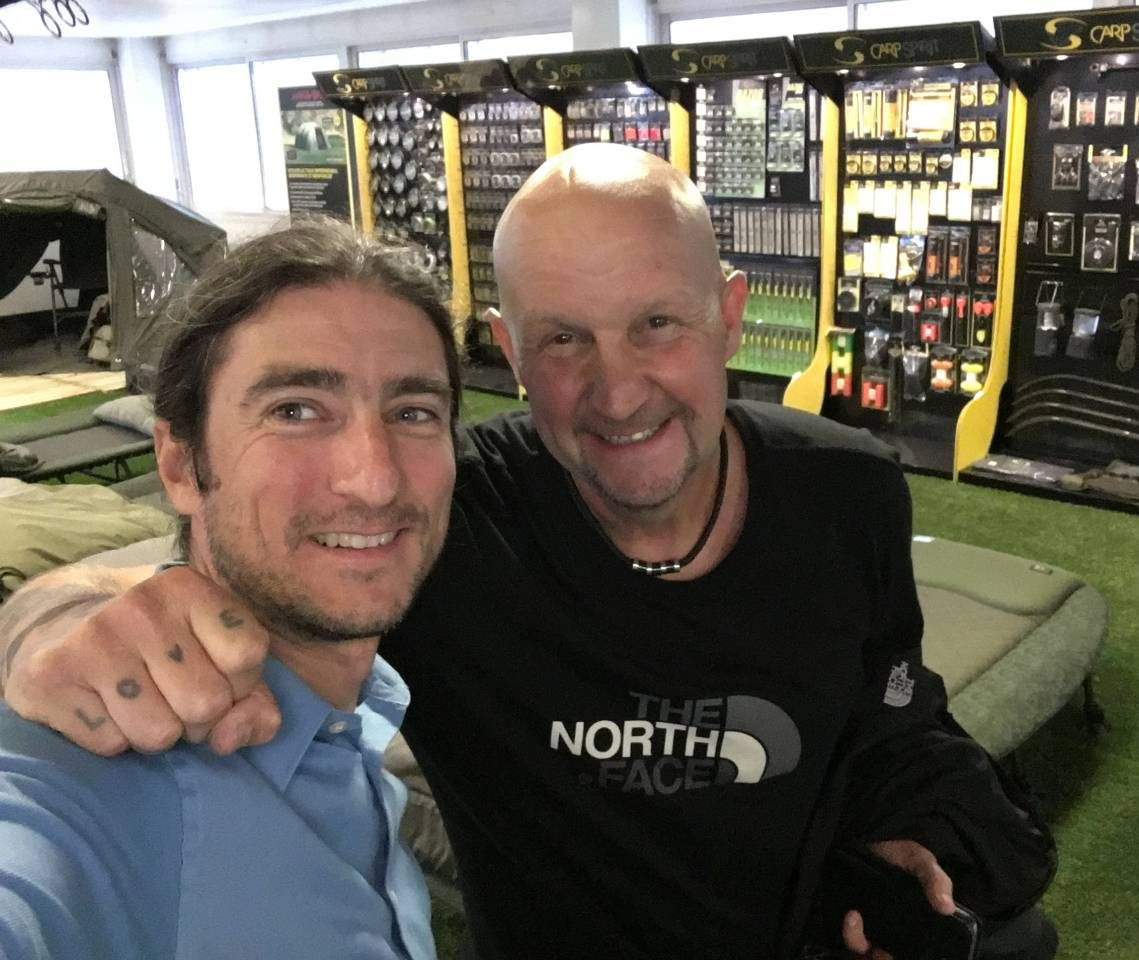 alban and ian russell from carp spirit