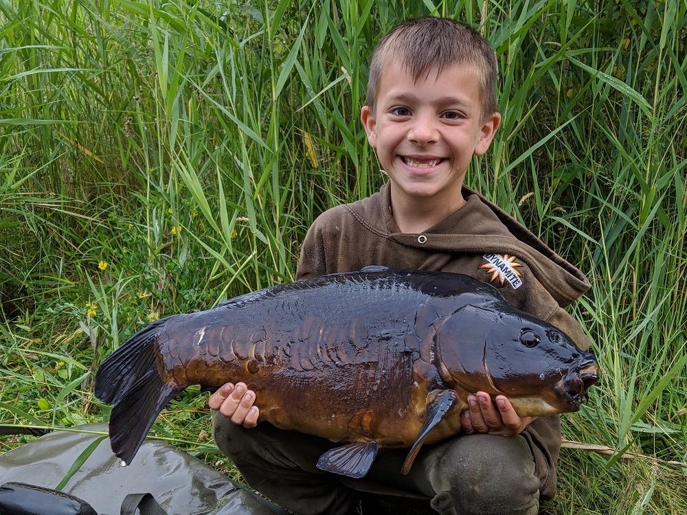 dark scaly best carp of the summer