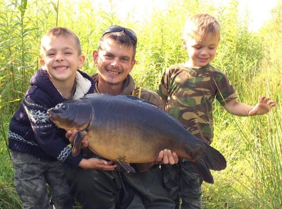 family carp fishing