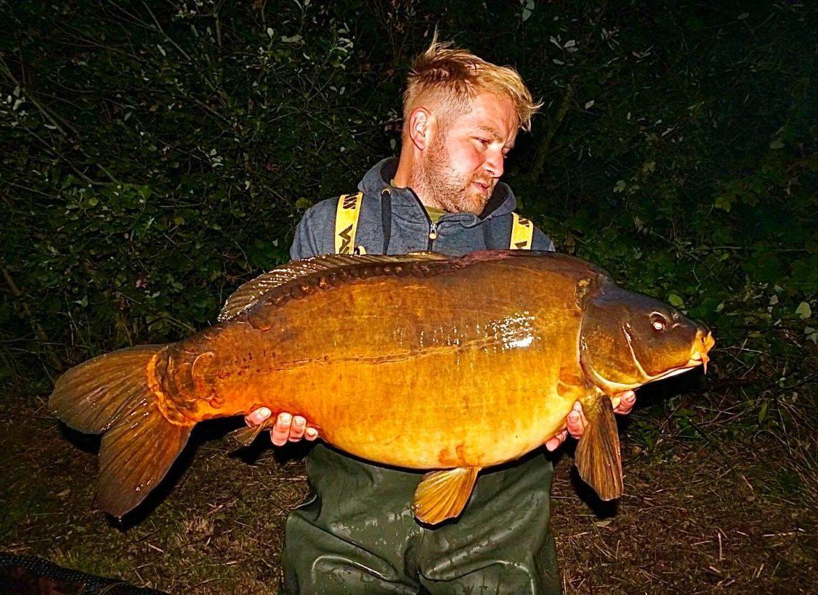 39.8 papercourt fishery mirror